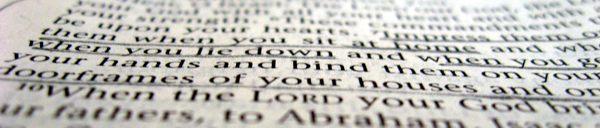 A verse we focused on