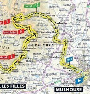 2019 Tour de France Stage 6 Map