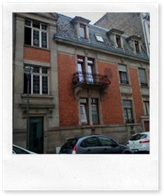 Olivia's residence hall