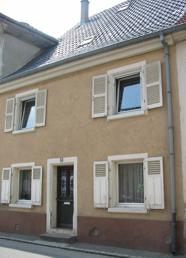 "Our ""Maison de Rue"" (row house) right on the street in the village of Soultz, France"