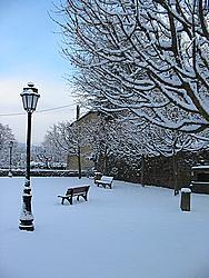 No, it's not Narnia...just the grounds around the Bucheneck Museum in Soultz!